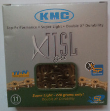 KMC X11 SL Superlight 11-fach Kette gold X 11 Rennrad Triathlon 228 g