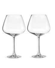 New ListingLenox Tuscany Burgundy Wine Glasses Set of 2
