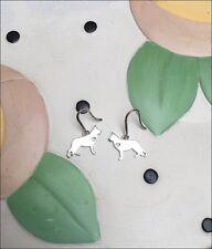 German Shepherd Sterling Silver Earrings - New - FREE SHIPPING