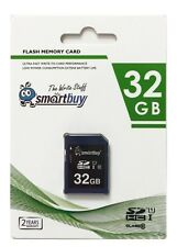 Smartbuy 32GB SDHC Class 10 U1 Flash Memory Card SD HC C10 Fast Speed For Camera