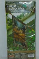 Large House Flag Deer Nature Country Outdoor Life Mossy Oak New
