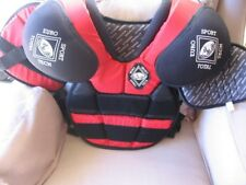 NEW EURO (PRO STOCK) HOCKEY SHOULDER PADS  SIZE M/L