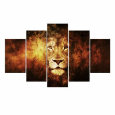 Unframed HD Canvas Print Wall Art Painting Picture Poster Decor Lion Head S
