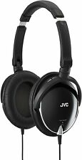 Victor JVC Head-band Foldable Headphones HA-S600-B Black