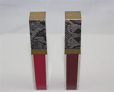 Lot of 2 Mally Evercolor Melted Liquid Lipstick in Mally Mauve & Punch