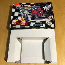 SNES Super Nintendo Game BOX ONLY : Micro Machines 2 Turbo Tournament