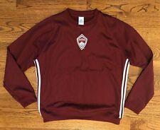 Colorado Rapids MLS Soccer adidas Maroon Sweatshirt Men's XL