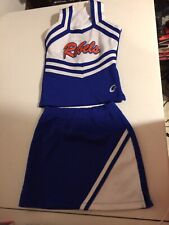 Real Cheerleading Uniform Youth Medium Rebels uniform