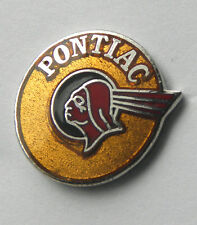 PONTIAC INDIAN CHIEF LOGO AUTO CAR LAPEL PIN BADGE 3/4 INCH | eBay