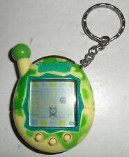 Tamagotchi Connection V4 Cream Camo Yellow Green ORIGINAL Cyber Pet Virtual