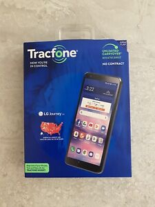 LG Journey TFLGL322DCP - 16GB - Black (Tracfone) Smartphone