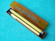 "Vintage Writing Set ""Souvenir"" Mechanical Pencil and Spare Leads USSR 1980's"