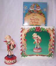 New Listing1987 Enesco The North Pole Village Elf Figurine Jiggle Horse 876887 Box Zimnicki