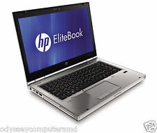 Lot of 5 HP Elitebook 8460p - Core i5 2.50GHz, 4 GB,320GB HDD, Webcam, Win 7 Pro