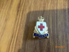 GENUINE RED CROSS DIVISION BADGE