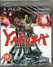 PS3 - YAKUZA DEAD SOULS - NUOVO ITALIANO - PAL - SIGILLATO