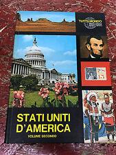 LIBRO: Enciclopedia degli stati - tuttilmondo - Stati Uniti  - 2 vol -  Milano