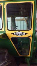 """HINIKER TRACTOR CAB DECALS.  SET OF (3)  VINYL. 4 3/4"""" X 17"""".  NO MODEL NUMBERS"""
