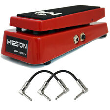 Mission Engineering EP-25K 25K TC Electronic Moog Expression Pedal Red + Cables