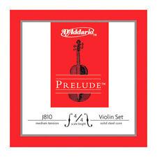 D'Addario Prelude J810 Medium Tension 4/4 Scale Violin String Set