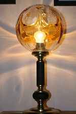 Wonderful Murano Lampe de chevet table lamp art deco Mazzega BAROVIER Italy ère
