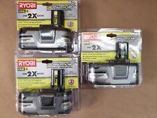 3 NEW Ryobi 18V ONE+ Lithium+ P191 High-Capacity 3Ah Li-Ion Battery