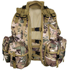 Highlander Militaire Cadet Tactical Assault Vest Airsoft Lading Drager Hmtc Camo