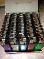 100 Cigarette Lighters delivered to you at 1 Low price  5 different colors