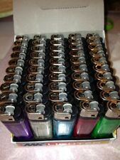100 Cigarette Lighters delivered to you at 1 Low price Bid 5 different colors