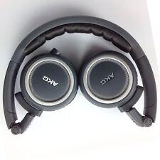 New Genuine AKG K450 K 450 Over Head High Performance Foldable Headphone Black