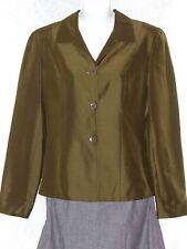 Ann Taylor Green Jacket Blazer Work Business Office Formal Dressy 6 Womens EUC