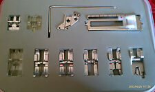 11 PC PRESSER Foot Snap On Pfaff Creative Performance Ambition Quilt Expression