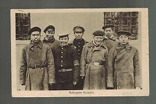 1916 WW1 Germany Army Feldpost Postcard Cover Korea PRisoners of War POW