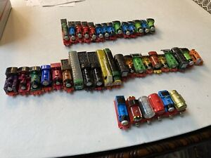 Thomas The Train Lot Of 41 Vintage Die Cast Metal Trains ERTL 1980s 1990s 2000s