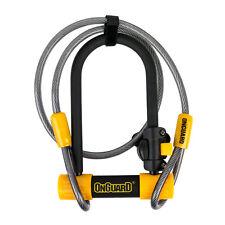 OnGuard 8015M Bulldog Medium DT U-Lock & Wheel Cable Bike Security Bicycle Lock