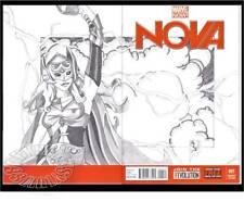 NOVA #1(4/13)BLANK VARIANT CVR.-w/ORIGINAL JANE FOSTER(THOR)(AVENGERS)CGC IT/9.8