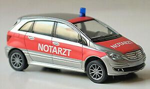 Mercedes-Benz B-Klasse 2005-11 T245 NEF Notarzt 1:87 Herpa 046985