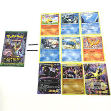 9pcs/1Pack Newest Pokemon TCG Pokemon Trading Card XY 11 - Steam Siege