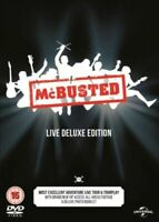 Mcbusted Live Deluxe Edition (DVD) NEW Gift Idea for ANY Mc Busted Fan