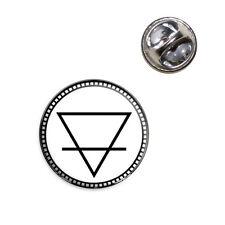 Alchemy Earth Symbol Lapel Hat Tie Pin Tack