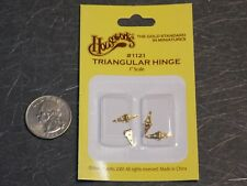 Dollhouse Miniature Hardware Bronze Butt Hinges /& Nails 1:12 G88 Dollys Gallery