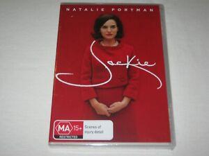Jackie - Natalie Portman - Brand New & Sealed - Region 4 - DVD