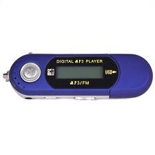 Blue 4GB LCD MP3 MP4 Music Media FM Radio Player Video USB 2.0
