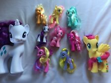LOT OF 10 G4 My Little Pony Brushables [Good Condition]
