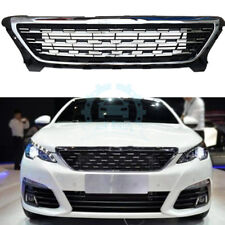 1pcs Auto Front Bumper Grille Car Upper Grills Assembly For Peugeot 308 2017