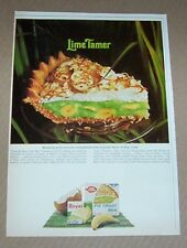 1965 print ad - Royal pudding Betty Crocker Key Lime coconut banana Pie recipe