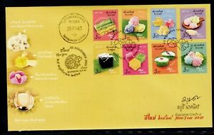 Thailand 2020 FDC New Year 2021 + signed by designer