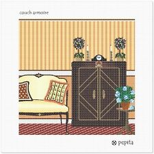 Couch Armoire Needlepoint Canvas (Home)