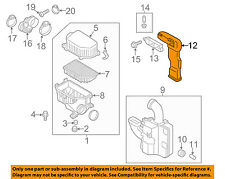 HYUNDAI OEM 12-14 Accent Air Cleaner Intake-Air Duct Tube Hose 282101R100