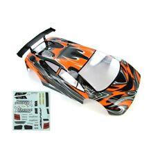 Redcat Racing 10030-1 1/10 Road Car Body Orange and Black 10030-1